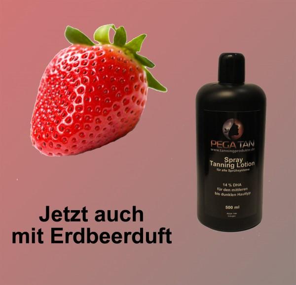 Direktbräuner Lotion mit Erdbeerduft 14% DHA 500 ml