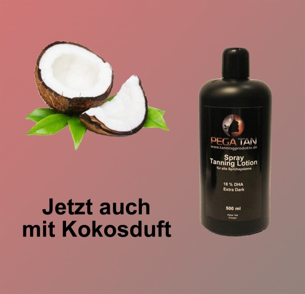 Direktbräuner Lotion mit Kokosduft 18% DHA 500 ml