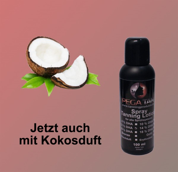 Direktbräuner Lotion mit Kokosduft 12% DHA 100 ml