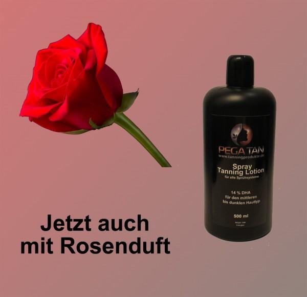 Direktbräuner Lotion mit Rosenduft 14% DHA 500 ml