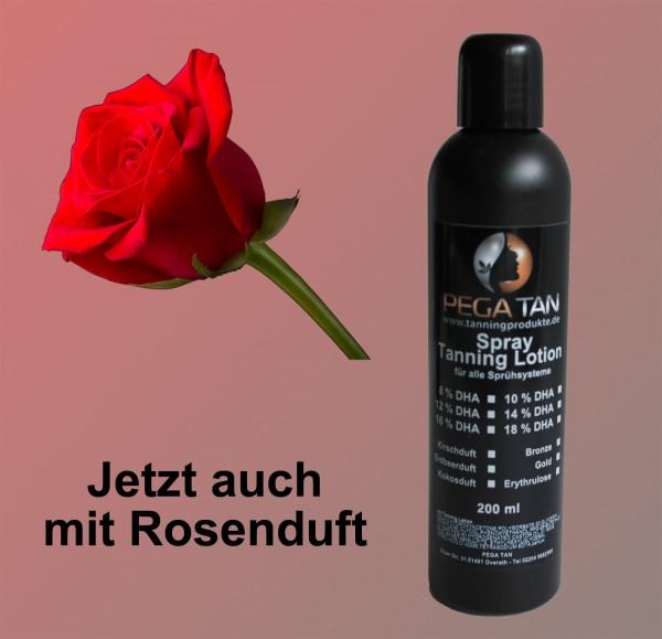Direktbräuner Lotion mit Rosensduft 12% DHA 200 ml
