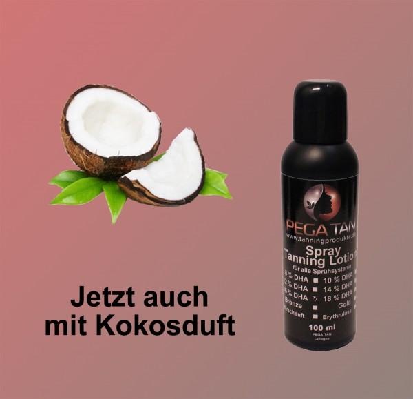 Direktbräuner Lotion mit Kokosduft 16% DHA 100 ml