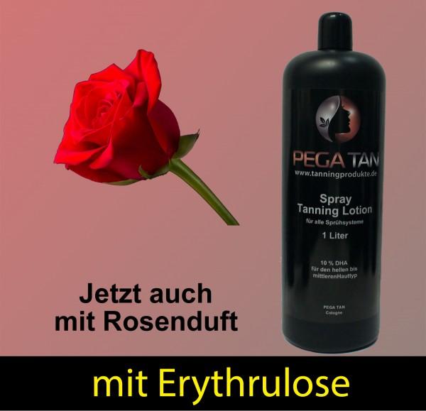 Direktbräuner Lotion mit Rosenduft und Erythrulose 10% DHA 1000 ml