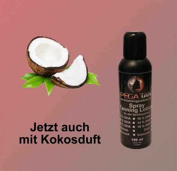 Direktbräuner Lotion mit Kokosduft 10% DHA 100 ml