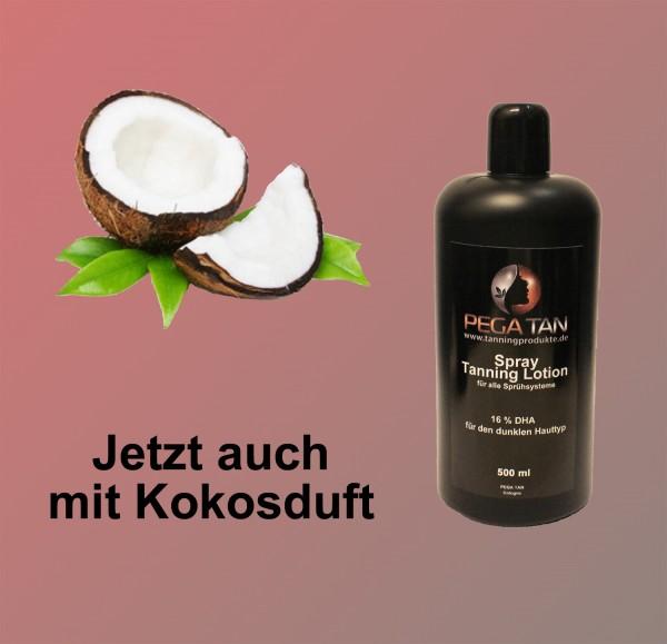 Direktbräuner Lotion mit Kokosduft 16% DHA 500 ml