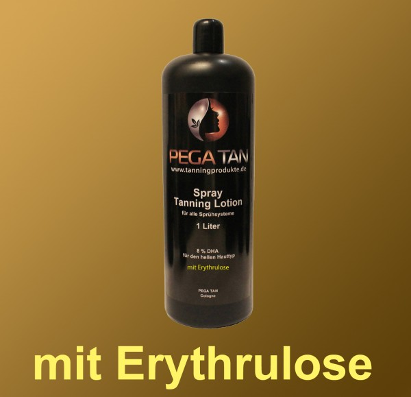 Direktbräuner Lotion mit Erythrulose 8% DHA 1000 ml