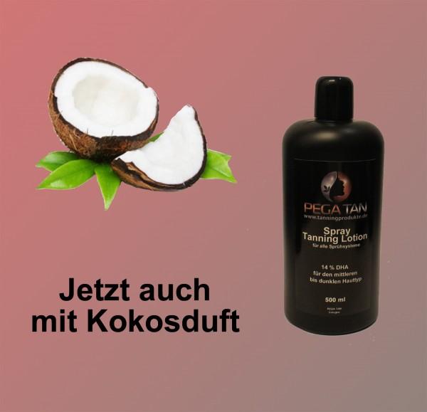 Direktbräuner Lotion mit Kokosduft 14% DHA 500 ml
