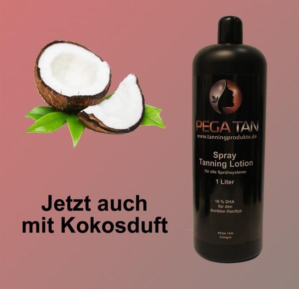 Direktbräuner Lotion mit Kokosduft 16% DHA 1000 ml