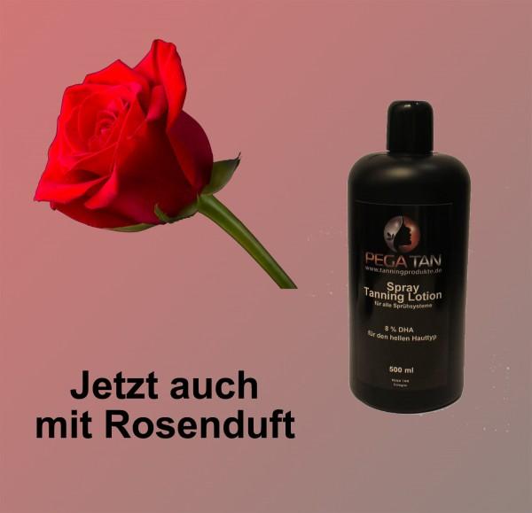 Direktbräuner Lotion mit Rosenduft 8% DHA 500 ml