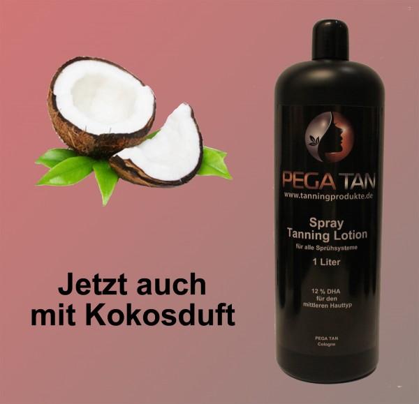 Direktbräuner Lotion mit Kokosduft 12% DHA 1000 ml