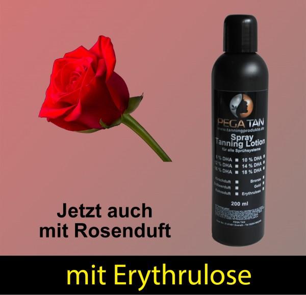 Direktbräuner Lotion mit Rosenduft und Erythrulose 14% DHA 200 ml
