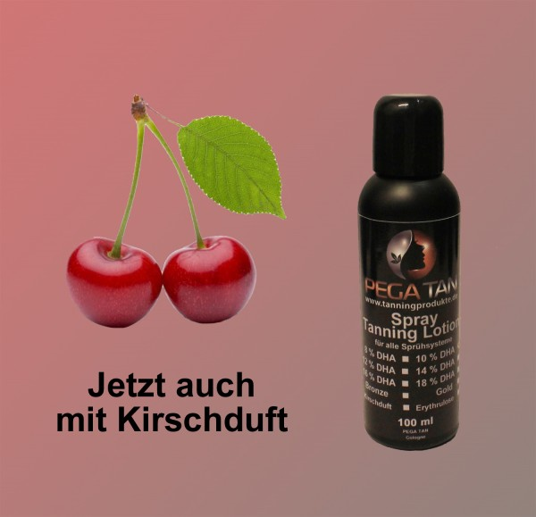 Direktbräuner Lotion mit Kirschduft 10% DHA 100 ml