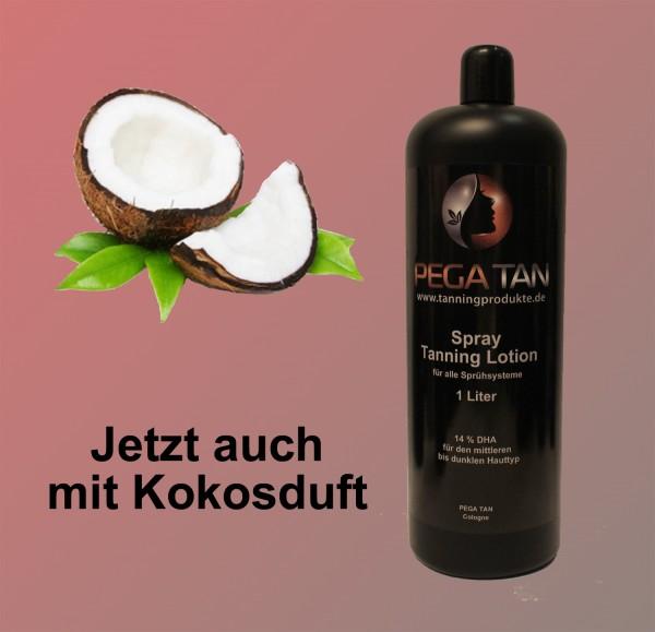 Direktbräuner Lotion mit Kokosduft 14% DHA 1000 ml