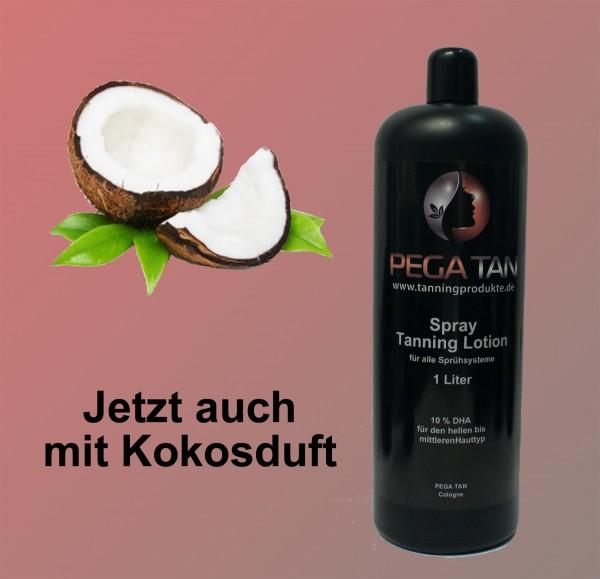 Direktbräuner Lotion mit Kokosduft 10% DHA 1000 ml
