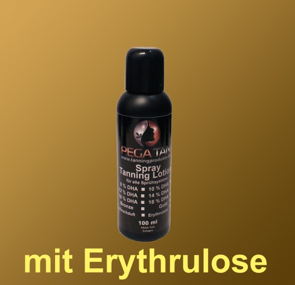 Direktbräuner Lotion mit Erythrulose 14% DHA 100 ml