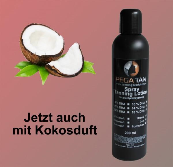 Direktbräuner Lotion mit Kokosduft 12% DHA 200 ml