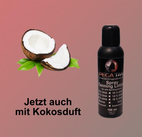 Direktbräuner Lotion mit Kokosduft 18% DHA 100 ml