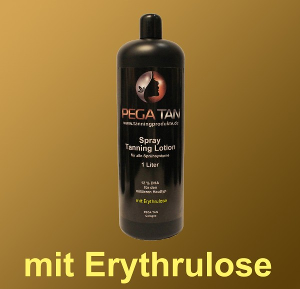 Direktbräuner Lotion mit Erythrulose 12% DHA 1000 ml