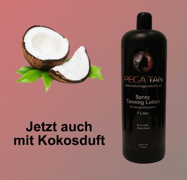 Direktbräuner Lotion mit Kokosduft 18% DHA 1000 ml