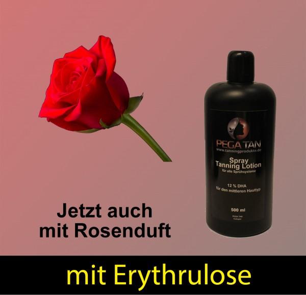 Direktbräuner Lotion mit Rosenduft und Erythrulose 12% DHA 500 ml